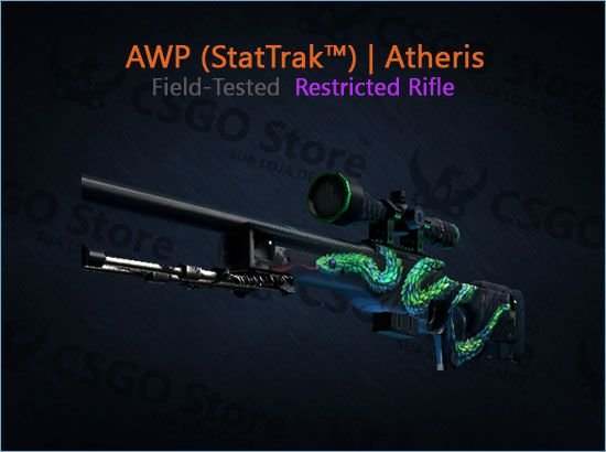 AWP (StatTrak™) | Atheris (Field-Tested)