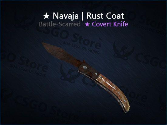★ Navaja Knife | Rust Coat (Battle-Scarred)