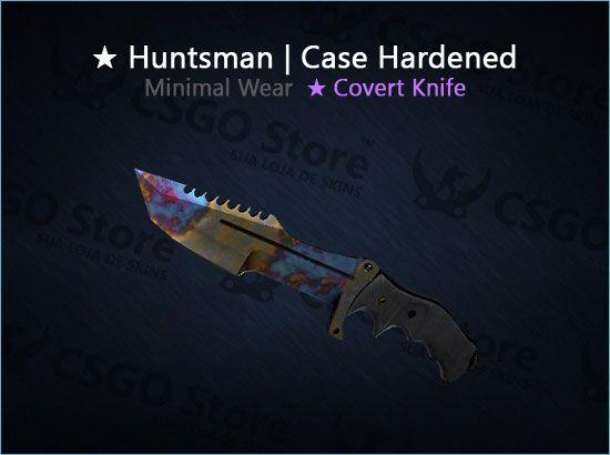 ★ Huntsman Knife | Case Hardened (Minimal Wear)