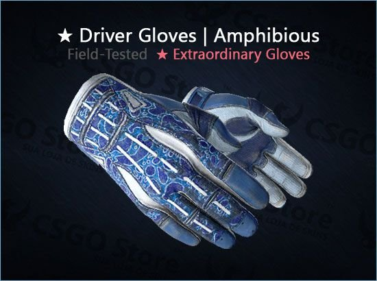 ★ Sport Gloves | Amphibious (Field-Tested)
