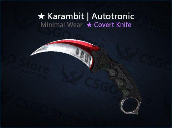 ★ Karambit | Autotronic 0.08 (Minimal Wear)