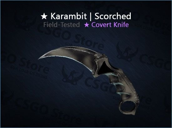★ Karambit | Scorched (Field-Tested)