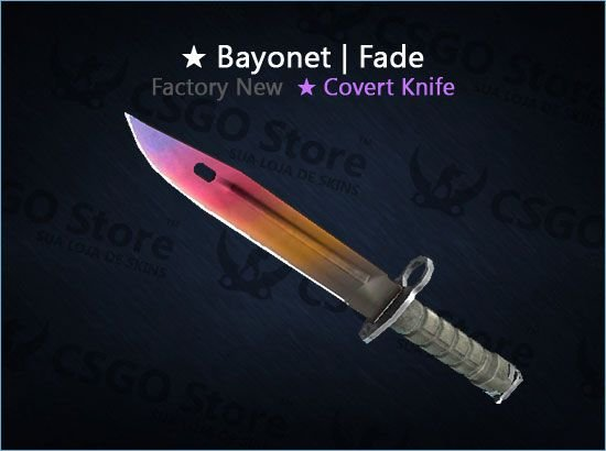★ Bayonet | Fade (Factory New)