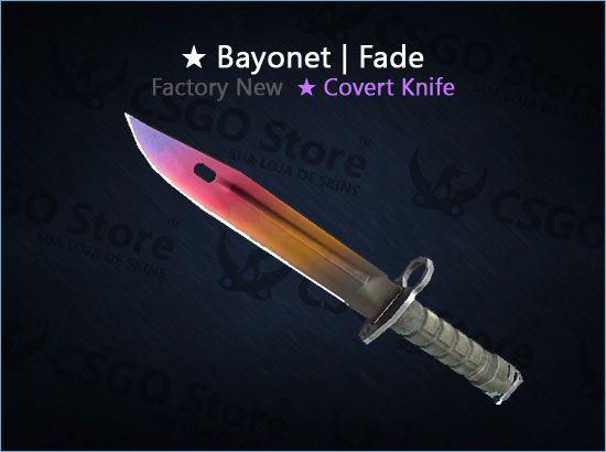 ★ Bayonet | Fade 0.006 (Factory New)