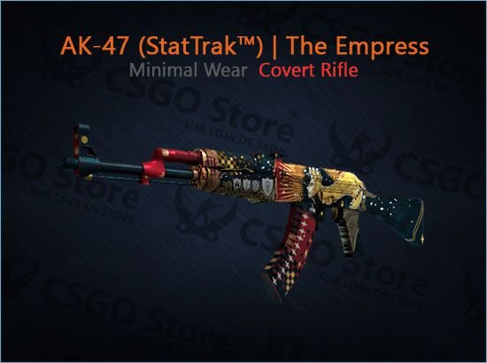 AK-47 (StatTrak™) | The Empress (Minimal Wear)