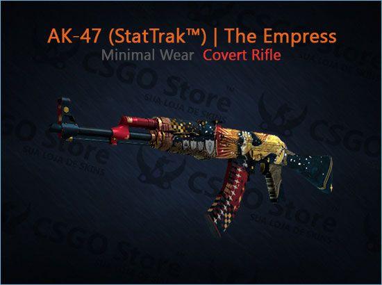 AK-47 (StatTrak™) | The Empress (Minimal Wear)