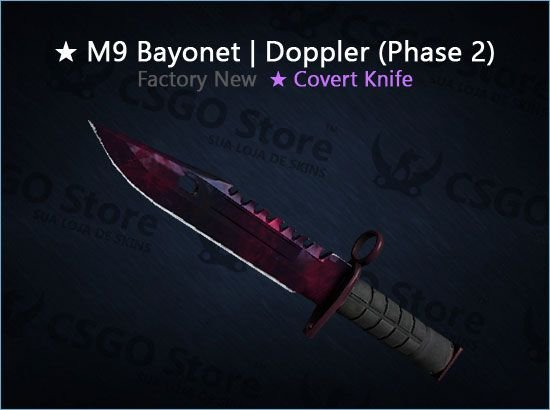 ★ M9 Bayonet | Doppler Phase 2 (Factory New)