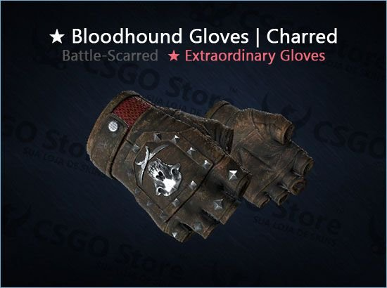★ Bloodhound Gloves | Charred (Battle-Scarred)