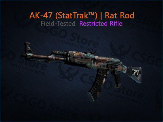 AK-47 (StatTrak™) | Rat Rod (Field-Tested)