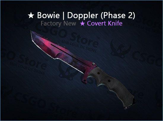 ★ Huntsman Knife | Doppler Phase 2 (Factory New)