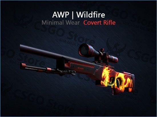 AWP | Wildfire (Minimal Wear)