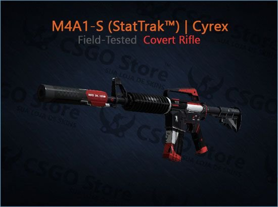 M4A1-S (StatTrak™) | Cyrex (Field-Tested)