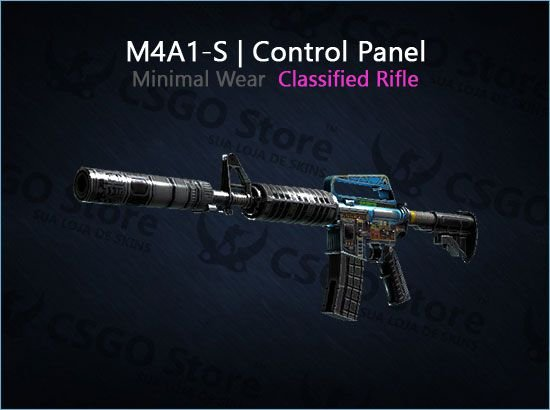 M4A1-S | Control Panel (Minimal Wear)