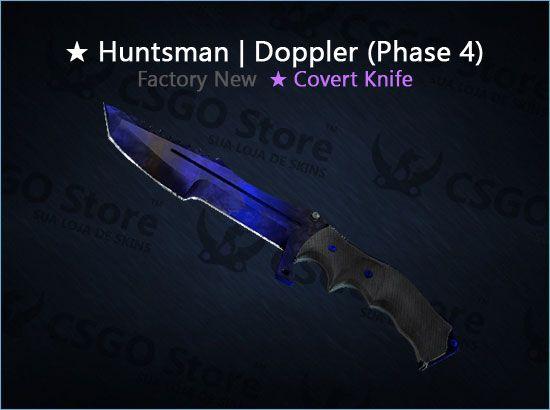 ★ Huntsman Knife | Doppler Phase 4 (Factory New)