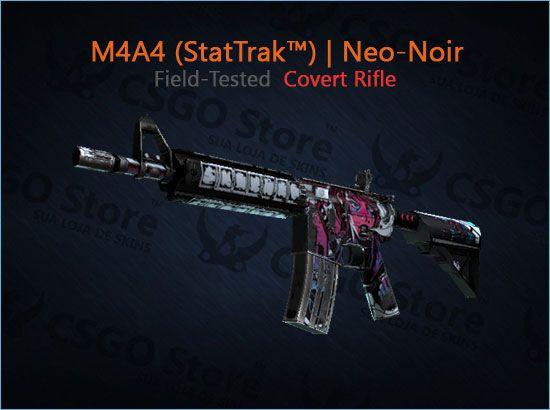 M4A4 (StatTrak™) | Neo-Noir (Field-Tested)