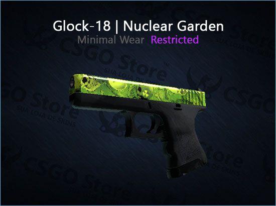 Glock-18 | Nuclear Garden (Minimal Wear)