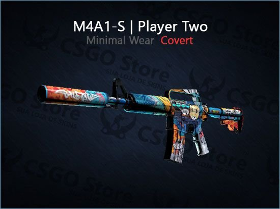M4A1-S | Player Two (Minimal Wear)