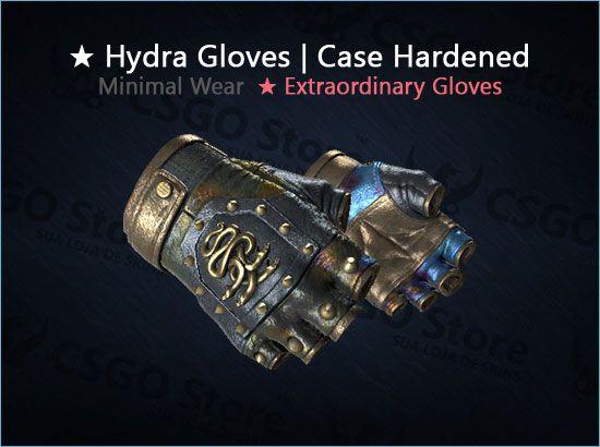 ★ Hydra Gloves | Case Hardened (Minimal Wear)