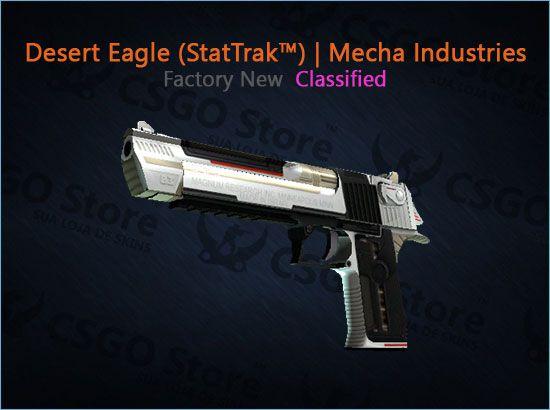 Desert Eagle (StatTrak™) | Mecha Industries (Factory New)
