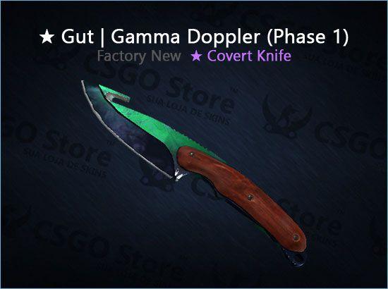 ★ Gut Knife | Gamma Doppler Phase 1 (Factory New)