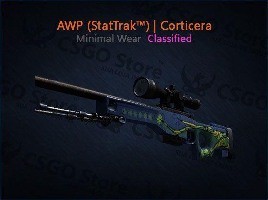 AWP (StatTrak™) | Corticera (Minimal Wear)
