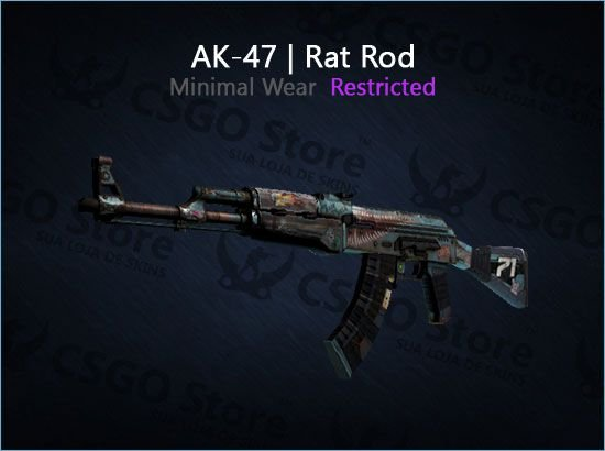 AK-47 | Rat Rod (Minimal Wear)