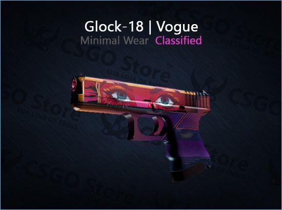 Glock-18 | Vogue (Minimal Wear)