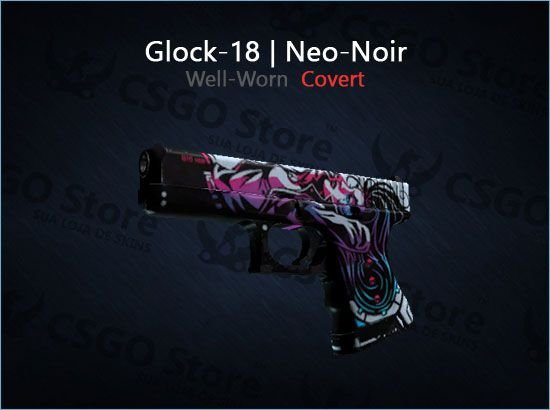 Glock-18   Neo-Noir (Well-Worn)