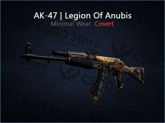 AK-47 | Legion of Anubis (Minimal Wear)