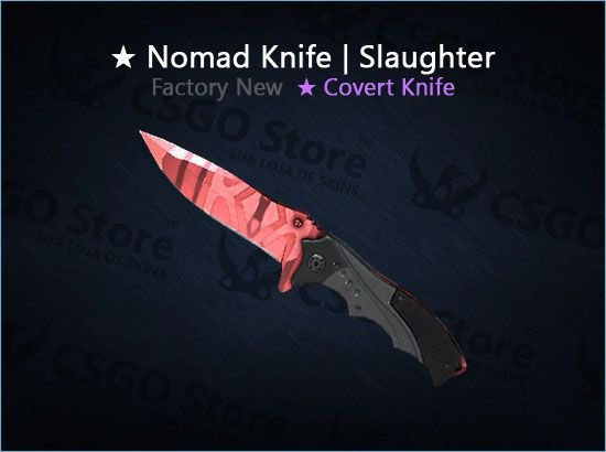 ★ Nomad Knife | Slaughter (Factory New)
