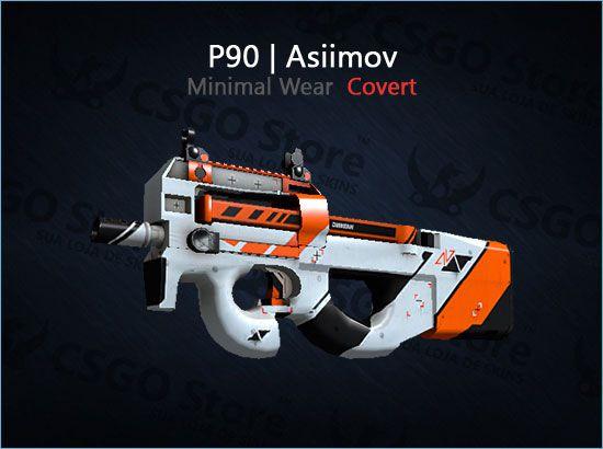 P90   Asiimov (Minimal Wear)