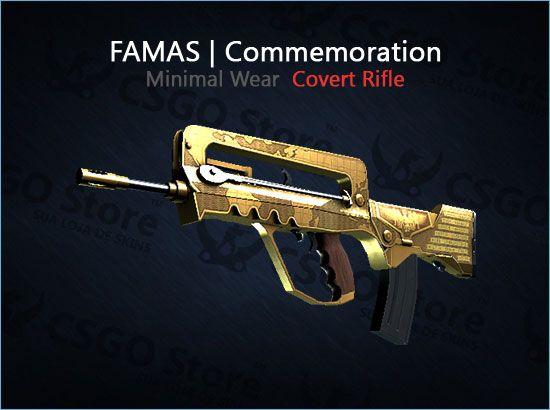 FAMAS | Commemoration (Minimal Wear)