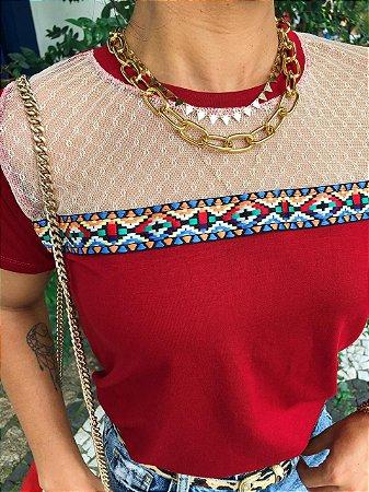 T-shirt Red Lili