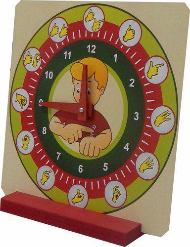 Relógio Educativo Horas Libras