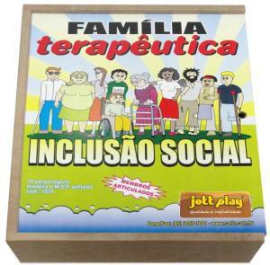 Família Terapêutica Inclusão Social - 10 personagens
