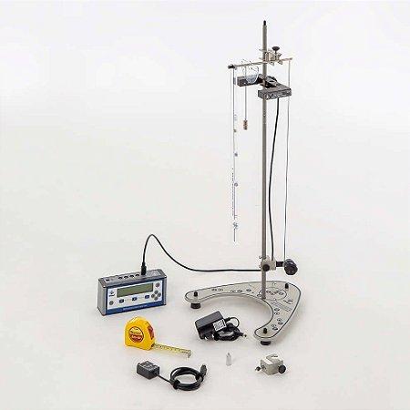 Conjunto de Pêndulos Físico e Simples com Multicronômetro Digital