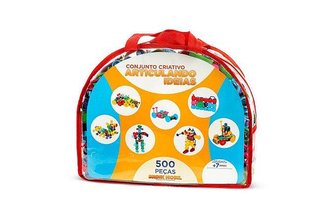 Sacolão Articulando Ideias - 500 peças em plástico