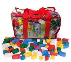 Mochila Monta Fácil - 500 peças em plástico