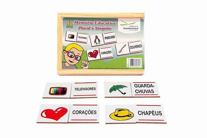 Memória Educativa Plural e Singular - 40 peças