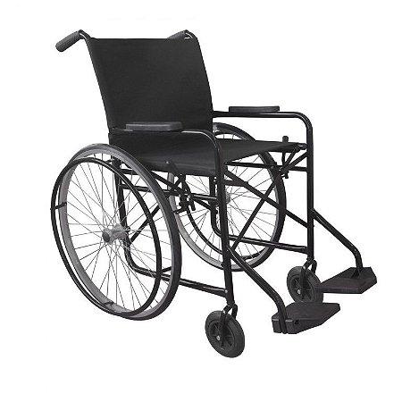 Cadeira de Rodas - capacidade até 90kg