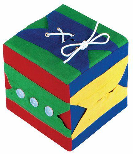 Cubo de Atividades  c/ 06 Atividades 16x16x16cm