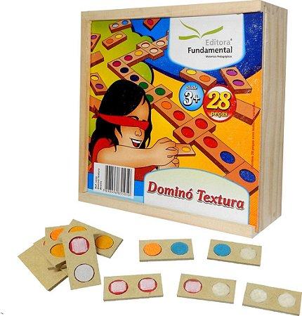 Dominó Textura - 28 peças
