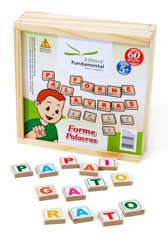 Forme Palavras - 60 peças