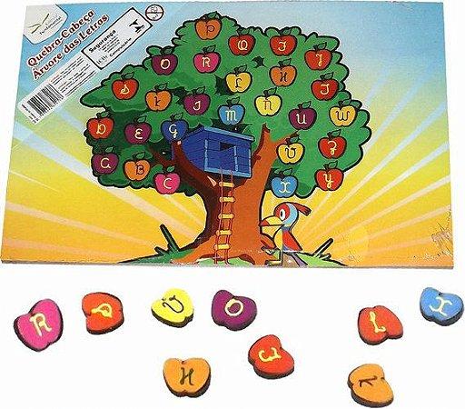Quebra-Cabeça Educativo Árvore das Letras - 28 peças