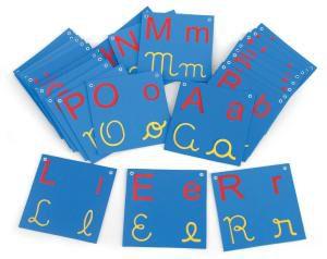 Varal de letras - 26 placas