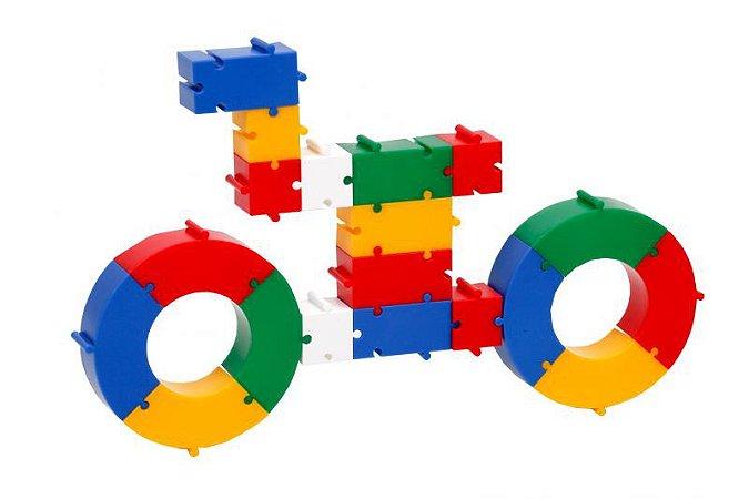 Sacolão Monte e Desmonte em Plástico - 500 peças