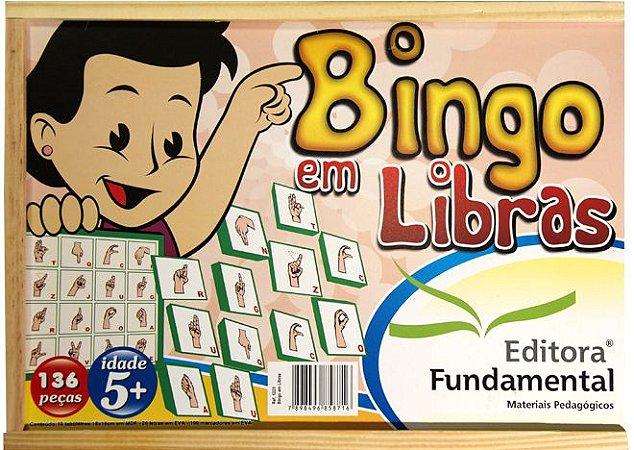 Bingo em Libras - 136 peças