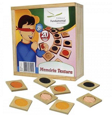Memória Textura - 20 peças