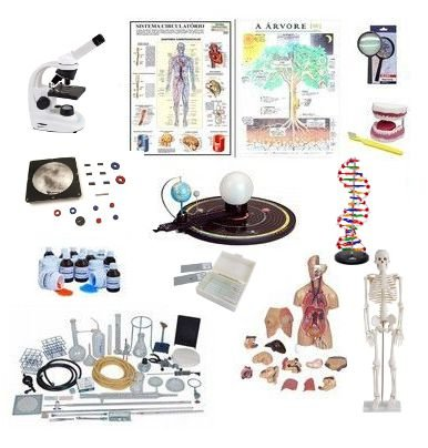 Kit de Ciências - 50 itens