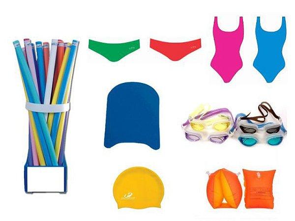 1db2d0a88 Kit Mais Educação - Produtos para Esportes Natação - Planeta Pedagógico